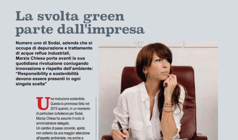 La svolta Green parte dall'impresa: la mia intervista per Forbes Italia